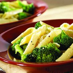 Broccoli & Garlic Penne Pasta