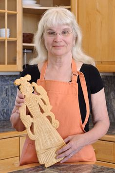 Love this large cookie from a cookie mold