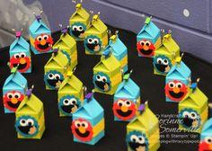 Elmo & Cookie Monster milkcarton treat boxes