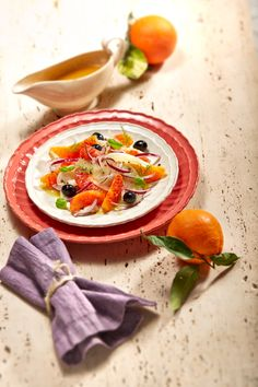 Blood Orange Salad from Sicily. Finish with a generous drizzle of Gran Cru Monti Iblei EV.