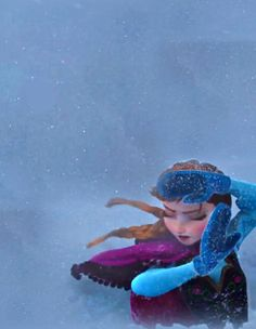 "A lot of people love Elsa in Frozen, but I'm more of an Anna girl myself. While Elsa says ""the cold never bothered me anyways"" Anna is completely bothered by the cold, but she overcomes that because of her determination and love for her sister. Elsa ran away from her fear and Anna went face first into it with no plan of how to fix things, but with the hope that somehow, just maybe, she could help makes things right again."