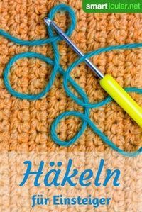 Learn to crochet for beginners: basic explanations- # learn . - Learn to crochet for beginners: basic explanations- # learn - Crochet Gratis, Crochet Diy, Learn To Crochet, Stitch Crochet, Slip Stitch, Easy Knitting Projects, Sewing Projects, Sewing Hacks, Tricot Simple