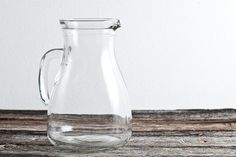 Glass Pitcher from TheOldRedHen
