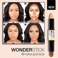 And, the beautiful @makeupshayla using our dual ended Wonder Stick! Shayla will be pos... | Use Instagram online! Websta is the Best Instagram Web Viewer!