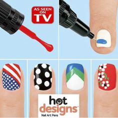 Kit Nail Art 2 em 1 hot designs por apenas 9.90€ em vez de 25€ poupança de 60%  espreitem neste link : http://web-affiliates.eu//idevaffiliate.php?id=632&url=3396