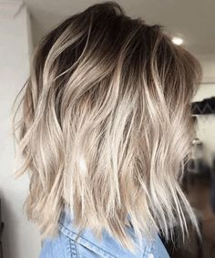 via GIPHY Dark Blonde Balayage, Ash Blonde Hair, Short Blonde, Balayage Straight, Short Ombre, Neutral Blonde, Brown Hair, Medium Blonde, Ash Blonde Highlights On Dark Hair