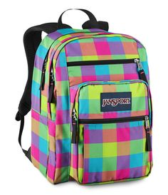 Jansport High Stakes Backpack - Coral Dusk Jungle Adventure ...