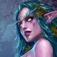 Tyrande Whisperwind another face angle