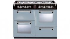 Belling 110cm Richmond Colour Boutique Dual Fuel Range Freestanding Oven - Silver Sky