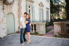 Monument Avenue Engagement in Richmond, VA with Lindsey + Steven | Kait Winston Photography