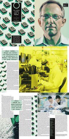 """Wired Italy - issue nr. 71 """"Benedetto Vigna"""" Photo: Mattia Balsamini - Art director: Corrado Garcia - Photo editor: Francesca Morosini"""