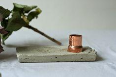 vida*nullvier: Lieblingsmaterialien vereint / Beton & Kupfer /