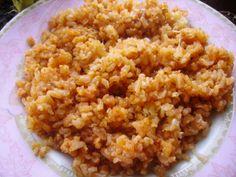 Необычный гарнир из риса с томатным соусом и сыром http://poleznogotovim.ru/neobychnyj-garnir-iz-risa-s-tomatnym-sousom-i-syrom/