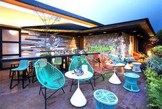 Stylish Tropical Paradise Theme of Lemongrass Restaurant Designed by Einstein & Associates - CAANdesign