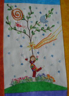 Sandra Bugs: Fun Embroidery
