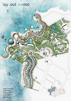 Site Development Plan Architecture, Architecture Site Plan, Architecture Mapping, Landscape Architecture Design, Concept Architecture, Landscape Sketch, Landscape Plans, Resort Plan, Presentation Board Design