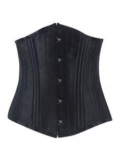 Walkingon Plus Size #Satin Double Steel Boned Unerbust Corsets #Waist #Trainer
