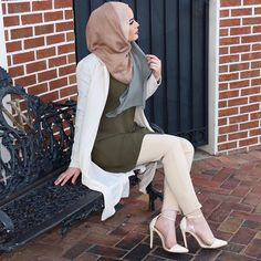 Shop my look by downloading @liketoknow.it on your phone and taking a screenshot of his picture to receive all item details straight to your email! http://liketk.it/2rpju #liketkit #OmayaZein Hijab @uniquehijabs