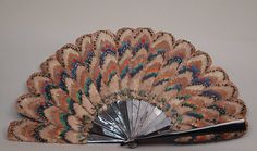 Fan Date: late 19th century Culture: French Medium: Feathers, tortoiseshell