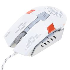 FOREV USB Wired Gaming Mouse 6 Buttons 4000 DPI Adjustable with Backlit Optical for PC