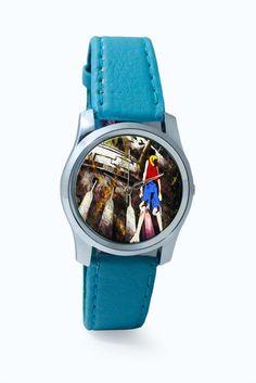 Luffy In Fire   One Piece Wrist Watch