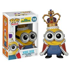 Minions Movie Minion King Pop! Vinyl Figure