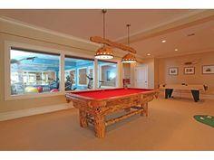 Great open billiard room