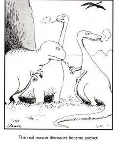 the real reason dinosaurs are extinct