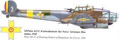 Potez 63/630/631/633/637 | Romania | Potez 63.11 A3 | 3 Ww2 Aircraft, Fighter Aircraft, Military Aircraft, Fighter Jets, Military Weapons, Luftwaffe, Bristol Blenheim, Fighting Plane, Maine