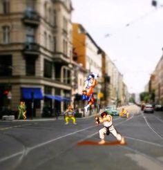 Real Life Nintendo Games