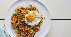 Cauliflower Fried Rice #purewow #recipe #healthy #cauliflower #dinner