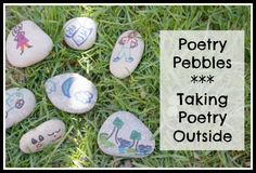 Outdoor Play Party, Poetry Pebbles