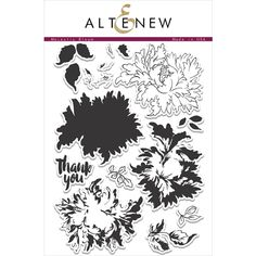 Altenew MAJESTIC BLOOMS Clear Stamp Set  Preview Image