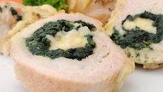 Kuracia roláda so špenátom Sushi, Ethnic Recipes, Food, Meal, Essen, Hoods, Meals, Eten