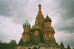 Kremlin, Moscow, Russia. Russian Architecture is breathtaking.