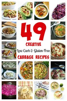 For those eating low carb, cabbage is a terrific choice. The cabbage health benefits make it hard to beat. Low carb recipes at allnaturalideas.com