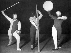 Dance of forms (Oskar Schlemmer, Werner Siedhoff, Walter Kaminsky).