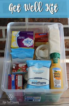 Make a sick mom kit and drop it on the doorstep of a single mom or a military spouse in need. A bad cold or the flu can knock a mom down. Grabbing essentials with the kids can be hard so a helping hand is always appreciated.