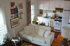 5 maneras de diseñar un Apartamento Estudio | Apartment Therapy