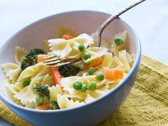 Pasta Delight - the pasta dish that includes everyone's favorite veggies! #recipe