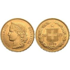 Swiss 20 Franc Gold Coin From Switzerland  #Gold #IRA #401K #Investing #numismatic  #regal_assets_review #Regal_Assets