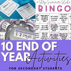 10 Ideas for a Fun, Reflective End of the Year Activity Ela Classroom, High School Classroom, English Classroom, Classroom Decor, Poetry Activities, End Of Year Activities, Teaching Poetry, School Routines, School Closures