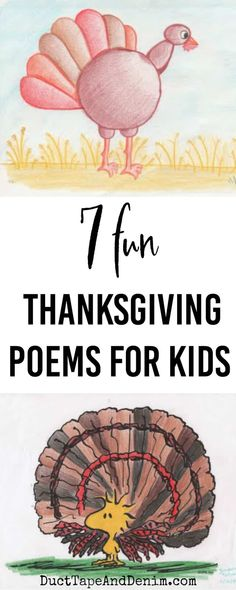7 of the Best Fun Thanksgiving Poems for Kids