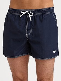 BOSS Black - Lobster Swim Trunks -- Theses are too cute. I like that they aren't too flashy but look comfy. $59.00