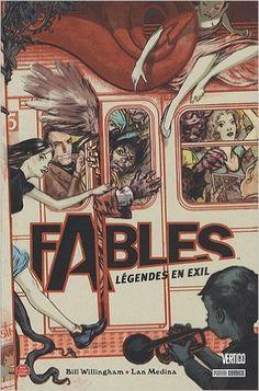 Amazon.fr - Best Of - Fables, Tome 1 : Légendes en exil - Bill Willingham, Lan Medina, Nicole Duclos - Livres