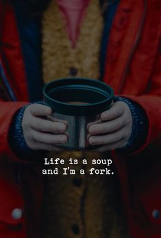 Life is a soup and Im a fork. via (https://ift.tt/2xYFLNo)