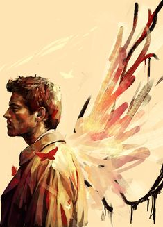 "Castiel: ""I'm your new God. A better one."" #spn"