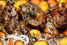 Lammasreseptit Pot Roast, Pork, Meat, Ethnic Recipes, Carne Asada, Pork Roulade, Pigs, Beef Stews