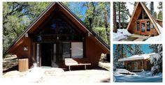 Small Log Cabins under 1000 SQFT