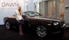 ロールスロイスの新型コンバーチブルドーンが日本上陸Rolls-Royce